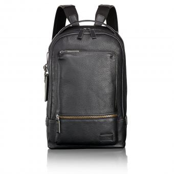 Tumi Harrison Winsor Rucksack black pebbled