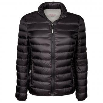Tumi PAX Outerwear 2 in 1 Damen Clairmont packbare Reisejacke und Nackenhörnchen Black/XL