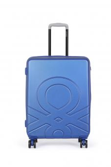 United Colors of Benetton ULTRA LOGO Cabin Trolley mit 4 Rollen S Royal Blue