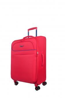 Verage Breeze Trolley M 4 Rollen erweiterbar Rose Red
