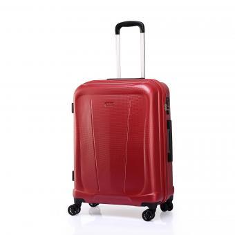 Verage Hero Trolley M 4R 68cm, erweiterbar Red