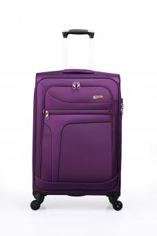 Verage Rock IV Trolley M 4 Rollen, erweiterbar Purple
