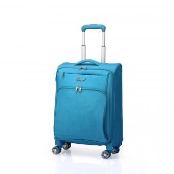 Verage S-Max Trolley S 4R 55cm, faltbar mit abnehmbaren Rollen Blue