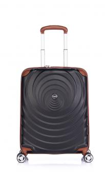 Verage Spiral Cabin Trolley S 4 Rollen, erweiterbar Black