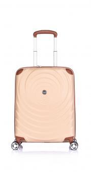 Verage Spiral Cabin Trolley S 4 Rollen, erweiterbar Champagne