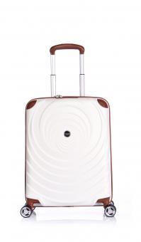 Verage Spiral Cabin Trolley S 4 Rollen, erweiterbar White