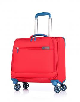 "Verage Visionary Business-Trolley mit Laptopfach 14"" Sun Red"
