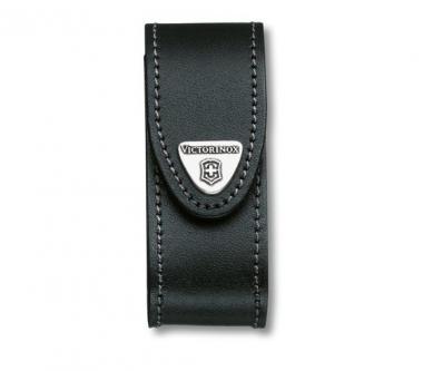 Victorinox Accessoires Leder-Gürteletui, für 91mm-Messer bis zu 4 Lagen. Schwarz