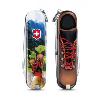 Victorinox Kleines Taschenmesser Classic *Limited Edition 2020* I Love Hiking