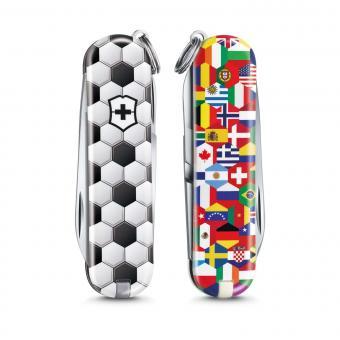 Victorinox Kleines Taschenmesser Classic *Limited Edition 2020* World Of Soccer