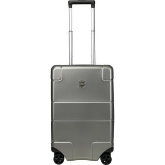 Victorinox Lexicon Hardside Frequent Flyer Hard Side Carry-On Titanium