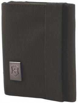 Victorinox Travel Accessories 4.0 Tri-Fold Wallet, Schwarz