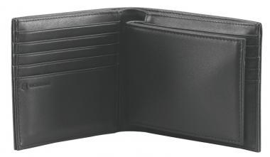Victorinox Altius 3.0 Amsterdam Portemonnaie aus Leder, Schwarz