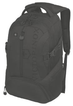 Victorinox Vx Sport Scout Backpack mit 16 Zoll Laptopfach Schwarz