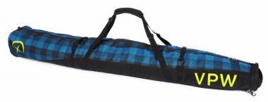 Völkl Performance Wear Free Double Ski Wheel Bag Denim Check