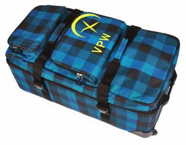 Völkl Performance Wear Free Wheel Bag 120 L Denim Check