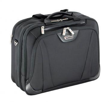 Wenger Deluxe Aktentasche 3 Fächer mit Laptopfach 17 Zoll