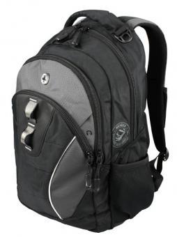 Wenger Backpacks Rucksack 24 Liter Schwarzgrau