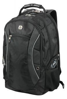 Wenger Backpacks Laptop Rucksack SCANSMART mit Laptopfach 17 Zoll Schwarz