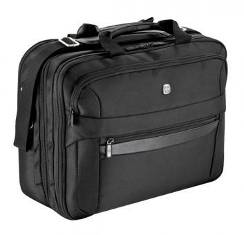 Wenger Business Basic RV-Businesstasche 3 Fächer mit Laptoptasche 16 Zoll schwarz