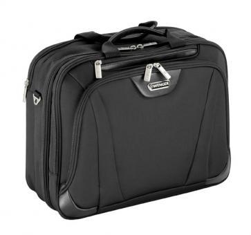 Wenger Business Deluxe RV-Businesstasche 3 Fächer mit Laptopfach 16 Zoll schwarz