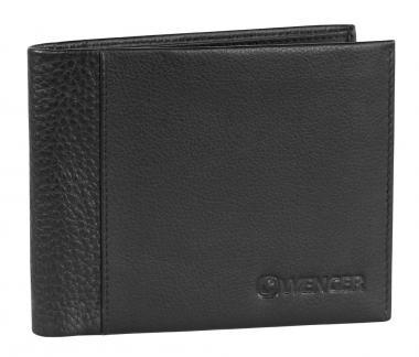 Wenger Nexus Kreditkartenbörse mit Scheinfach, horizontal Schwarz