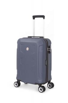 Wenger PC Hardside 4 Doppelrollen Koffertrolley 38 Liter Blau