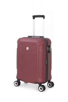 Wenger PC Hardside 4 Doppelrollen Koffertrolley 38 Liter Bordeauxrot