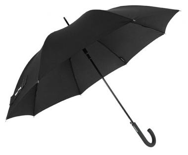 Wenger Rubberstyle Umbrellas Herrenstockschirm Automatik Schwarz