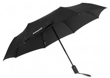 Wenger Rubberstyle Umbrellas Partnerschirm Automatik Schwarz