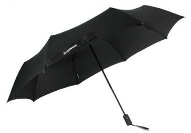 Wenger Rubberstyle Umbrellas Taschenschirm Automatik Schwarz