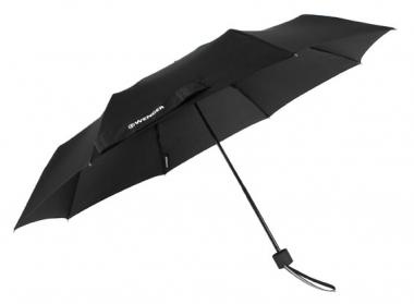 Wenger Rubberstyle Umbrellas Taschenschirm manuell Schwarz