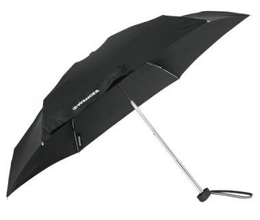 Wenger Rubberstyle Umbrellas Taschenschirm Super-Mini Schwarz