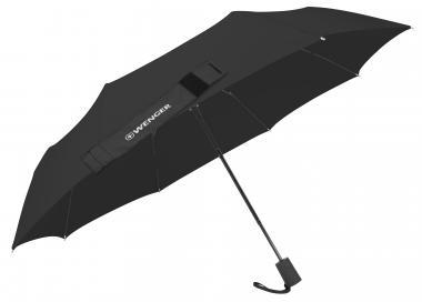 Wenger Umbrellas Taschenschirm manuell, Fiberglas, Stahlstiel Schwarz