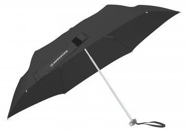 Wenger Umbrellas Taschenschirm Flach, manuell, Fiberglas Schwarz