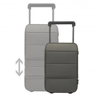 Xtend Smart Carry on, erweiterbar, mit Powerbank und Fingerabdruck-Schloss Dark Grey - Graphite