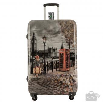 YNot? Yes Case Trolley L 4 Rollen London Autumn in London