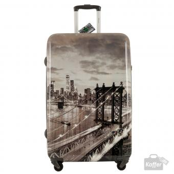 YNot? Yes Case Trolley L 4 Rollen New York East River
