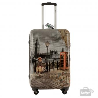 YNot? Yes Case Trolley M 4 Rollen London Autumn in London