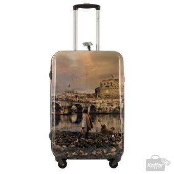 YNot? Yes Case Trolley M 4 Rollen Rome Joyful Wind