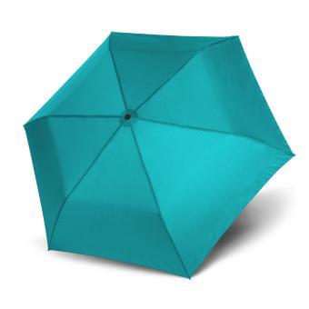 doppler Zero,99 Manuell Superleichter Taschenschirm aqua blue