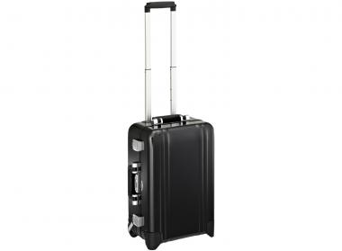 Zero Halliburton Zeroller Classic Aluminium Carry on 2 Wheel Travel Case Black
