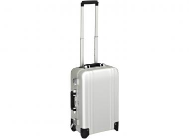 Zero Halliburton Zeroller Classic Aluminium Carry on 2 Wheel Travel Case Silver