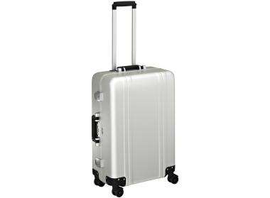 Zero Halliburton Zeroller Classic Aluminium 4 Wheel Spinner Travel Case 24 Zoll