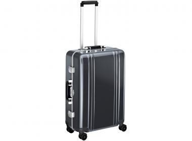 Zero Halliburton Classic Framed 4 Wheel Spinner Travel Case 24 Zoll gunmetal