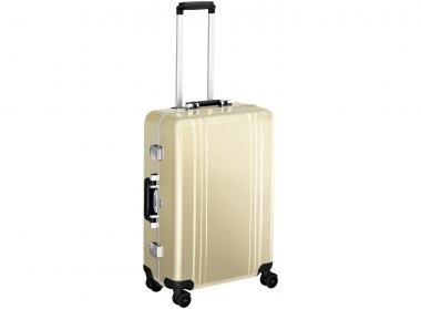 Zero Halliburton Classic Framed 4 Wheel Spinner Travel Case 24 Zoll gold