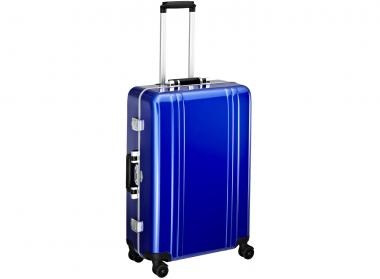 Zero Halliburton Classic Framed 4 Wheel Spinner Travel Case 26 Zoll blue