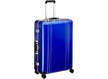 Zero Halliburton Classic Framed 4 Wheel Spinner Travel Case 28 Zoll blue