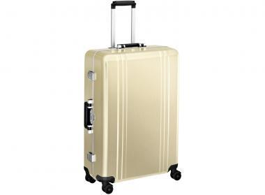 Zero Halliburton Classic Framed 4 Wheel Spinner Travel Case 28 Zoll gold