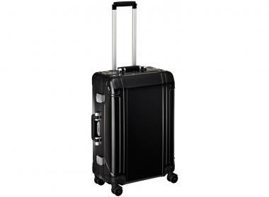 Zero Halliburton Geo Aluminium 4 Wheel Spinner Travel Case 24 Zoll black